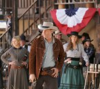 """BONES: L-R: Guest star Skyler Vallo, David Boreanaz and Emily Deschanel in the first part of the two-hour """"The Cowboy in the Contest/The Doom in the Boom"""" fall finale episode of BONES airing Thursday, Dec. 10 (8:00-10:00 PM ET/PT) on FOX. ©2015 Fox Broadcasting Co. Cr: Jennifer Clasen/FOX"""