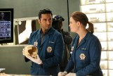 "BONES: L-R: Guest star Pej Vahdat and Tamara Taylor in the ""The Movie in the Making"" episode of BONES airing Thursday, June 2 (8:00-9:00 PM ET/PT) on FOX. ©2016 Fox Broadcasting Co. Cr: Patrick McElhenney/FOX"
