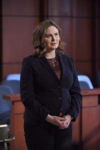 """BONES:  Emily Deschanel in the """"The Final Chapter:  The Day In The Life"""" episode of BONES airing Tuesday, March 21 (9:00-10:00 PM ET/PT) on FOX.  ©2017 Fox Broadcasting Co.  Cr:  Ray Mickshaw/FOX"""