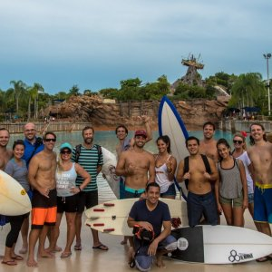 Group Photo - ThankYouSurfing - Typhoon Lagoon - August 6 2016 (courtesy Oscar Socarras)