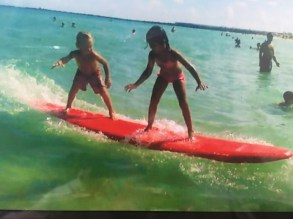 Annie Tworoger - Local Lens Surfers: Kai and Devyn