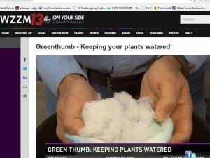 Diaper dandy idea for your plants