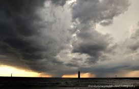 Storms arrive on the channel