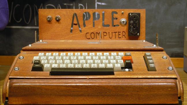 اول حاسوب لشركة أبل apple 1