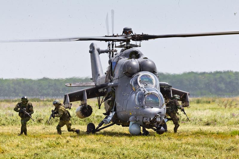 المروحية الروسية المقاتلة Mi-35M