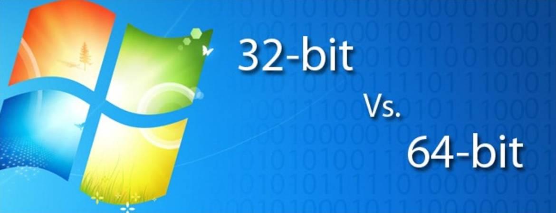 الفرق بين ويندوز 32 بت و 64 بت