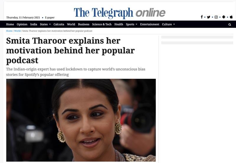 The Telegraph Online Review The Unconscious Bias