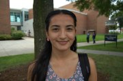 """Faiza Chaudhry, 18, Engineering - """"I believe it [racism] still exists. All the culture, I just don't see everyone getting along like they should. I have been effected by racism because when I was in high school this girl told me to go back to my country where I came from."""""""
