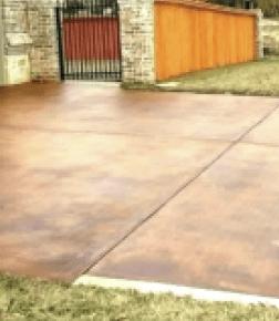 exterior concrete staining | That 1 Painter