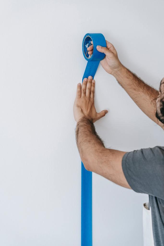 austin-texas-blue-painters-tape
