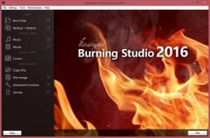 Bản quyền miễn phí Ashampoo Burning Studio 2016