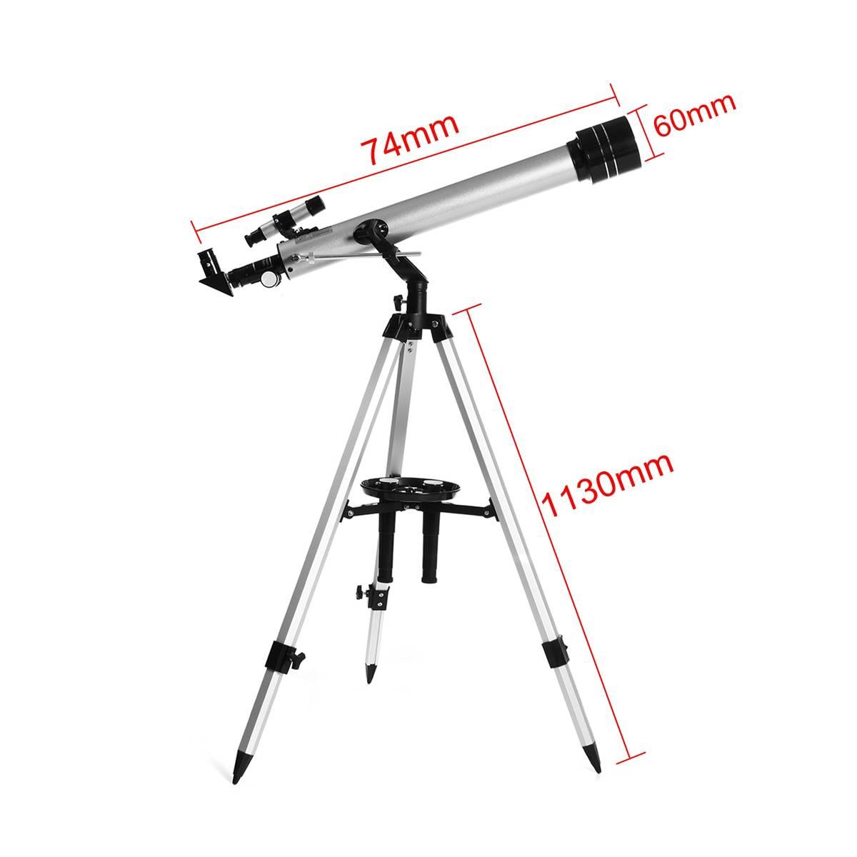 Astronomical 525x Refractive Telescope