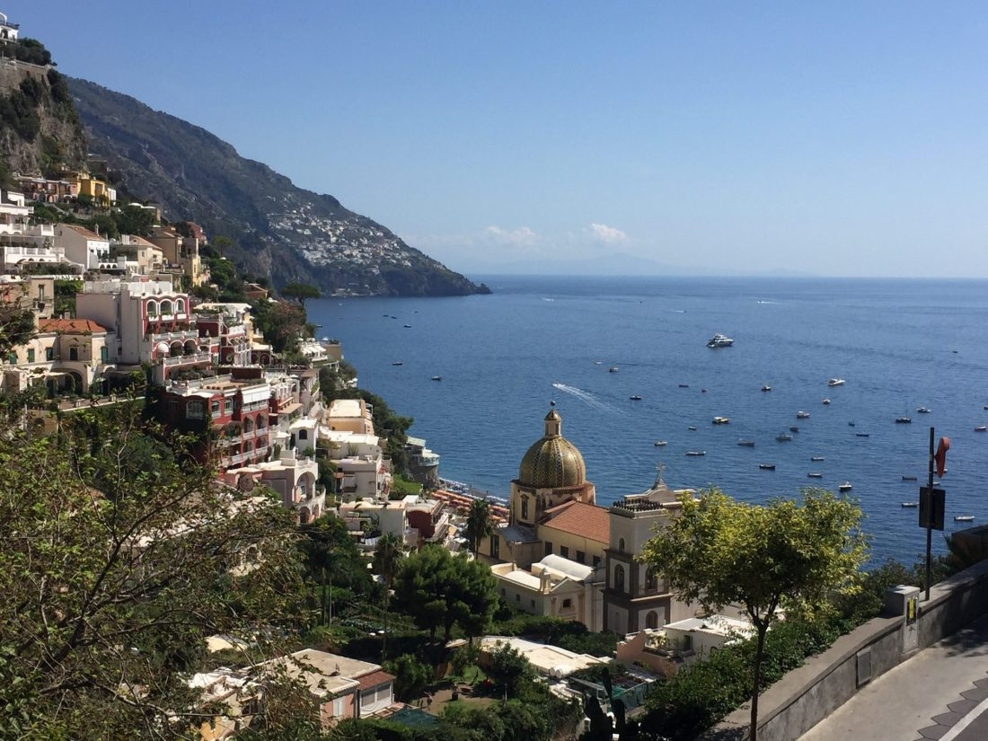 view of positano italy