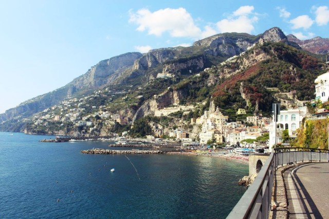 Amalfi Coast - The 5 Best Things To Do For Free - View of Amalfi