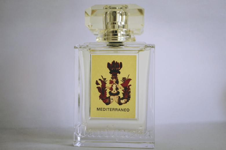 bottle of carthusia mediterraneo perfume capri