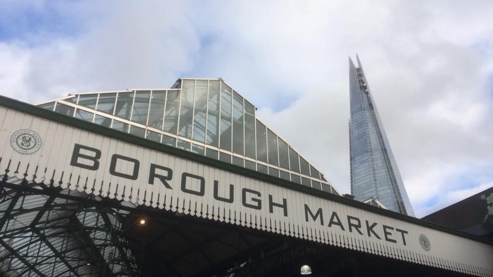 borough market london shard