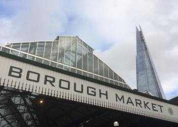 borough market london shard