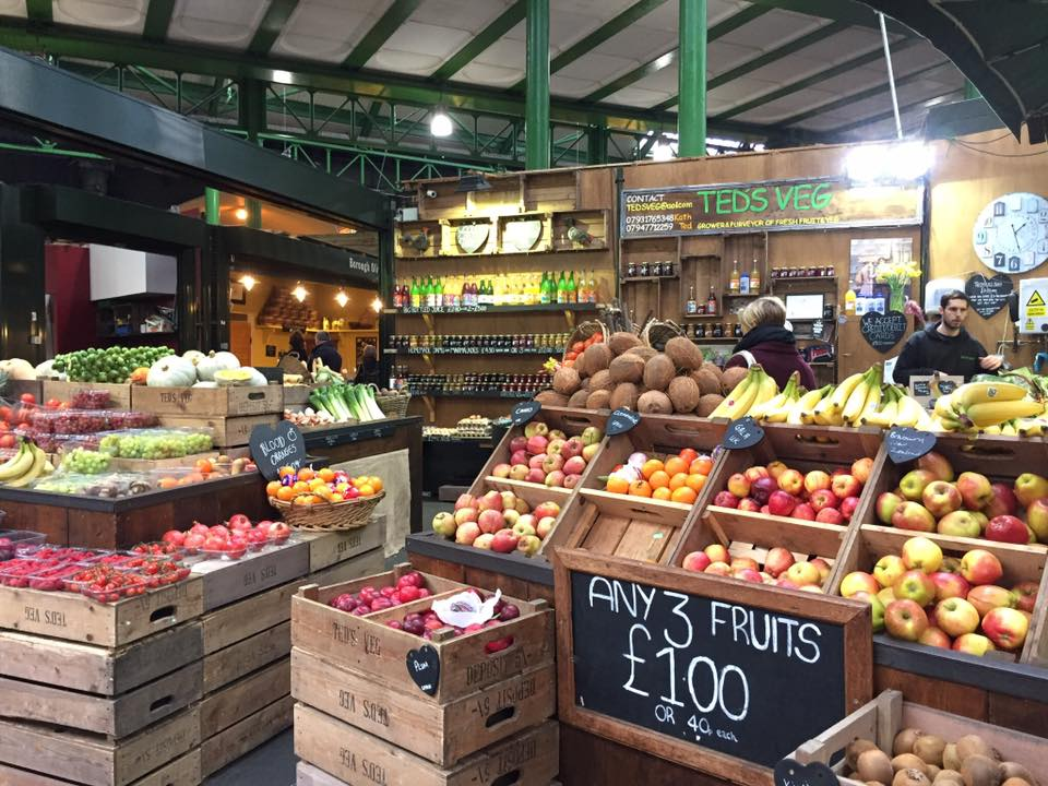teds veg borough market london