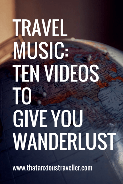 Looking for some travel inspiration? Let music be your guide! Click here for ten tunes that'll have you reaching for your passport (or updating your favourite playlist with some awesome, travel-inspiring music, at the very least!). Repin if it gets your toes tapping! https://thatanxioustraveller.com/travel-music-10-tracks-thatll-give-you-wanderlust/ #travel #music #travelblog #blogger #wanderlust #inspiration
