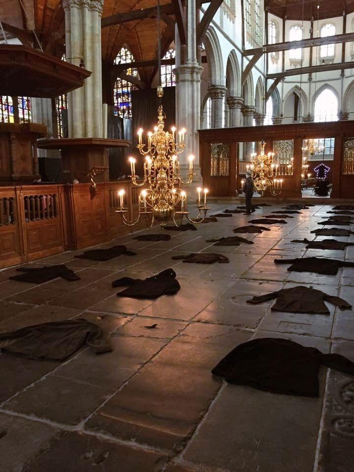 One Day In Amsterdam - Oude Kerk Art