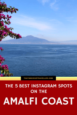 We all know that the Amalfi Coast is one of Italy's - and the world's - most beautiful places, and therefore a photographer's dream. But what are the best spots to Instagram? What's going to invoke the maximum travel inspiration/insta-envy? Click here to find out! https://thatanxioustraveller.com #amalfi #italy #europe #travel #instagram