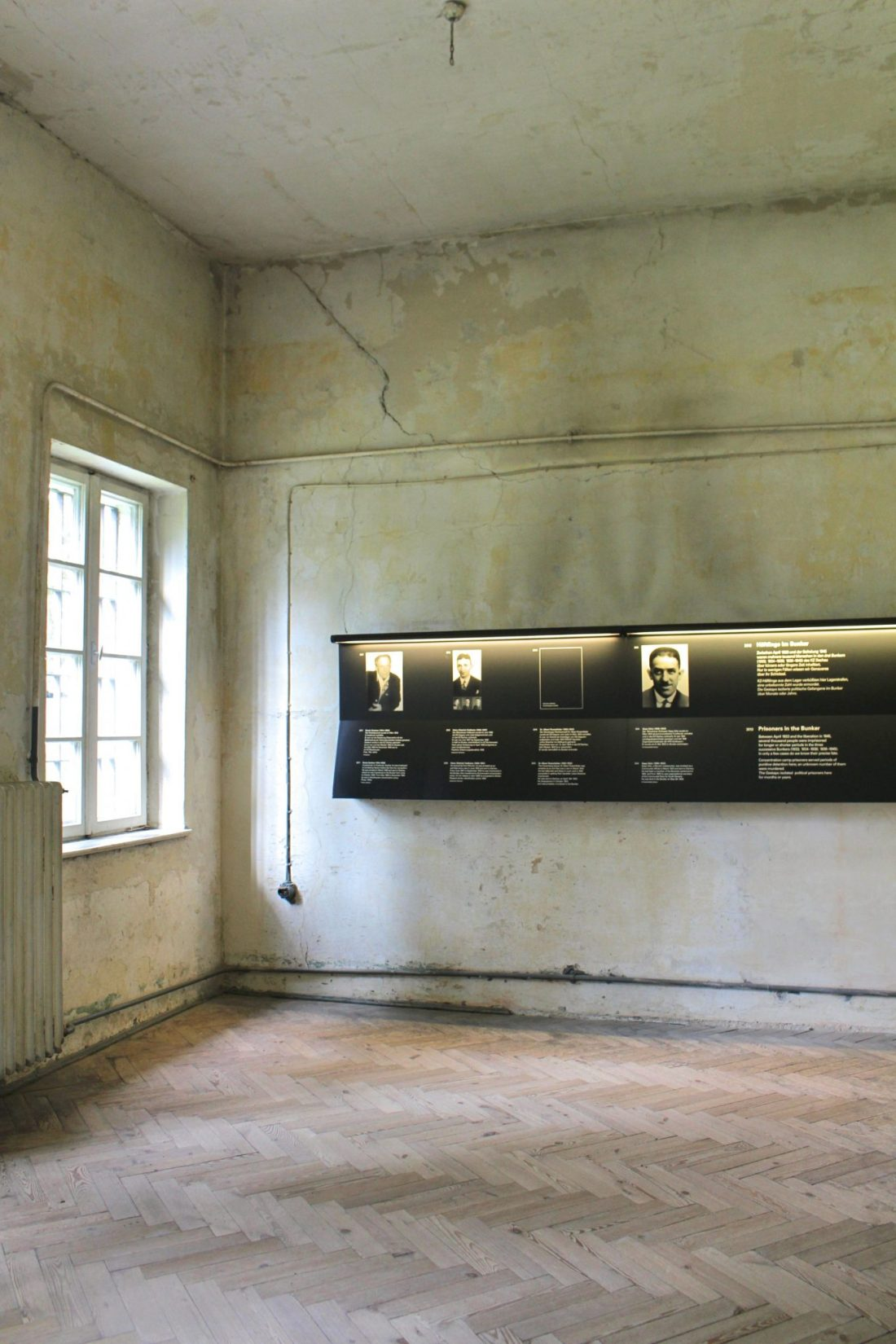 Dachau Bunker Interior. Visiting Dachau Concentration Camp Memorial Site https://thatanxioustraveller.com #europe #travel #munich #dachau #history