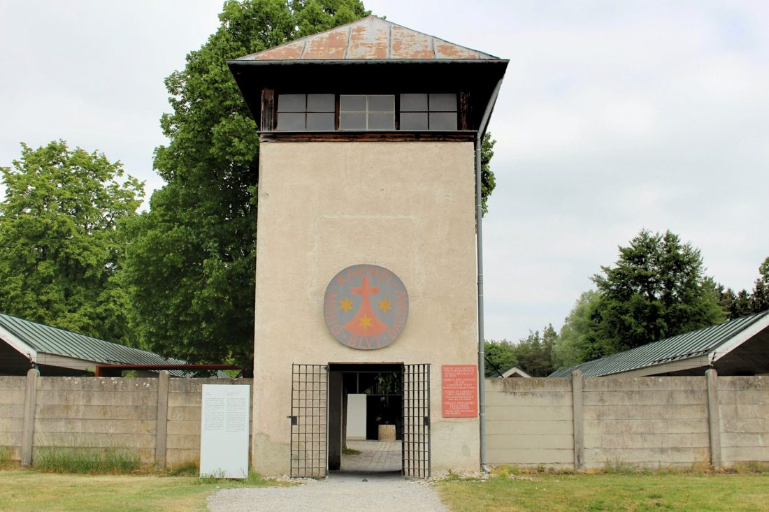 Dachau Carmelite Convent. Visiting Dachau Concentration Camp Memorial Site https://thatanxioustraveller.com #europe #travel #munich #dachau #history