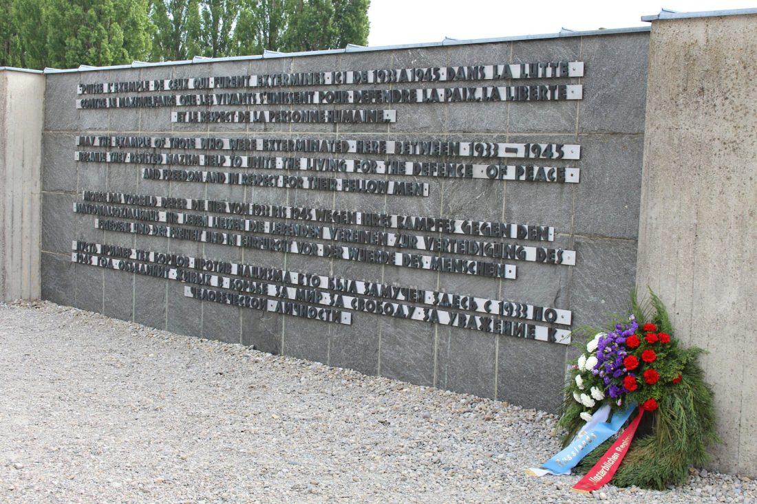 Dachau International Monument. Visiting Dachau Concentration Camp Memorial Site https://thatanxioustraveller.com #europe #travel #munich #dachau #history
