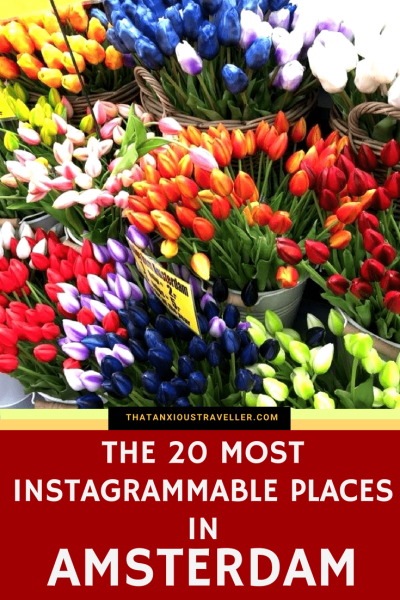 The 20 Most Instagrammable Places in Amsterdam. Everyone loves to get great photos when they travel - and let's face it, some locations and landmarks are just more instagrammable than others. So here's a handy guide, with maps and links for ultimate usefulness, on where to find the places that'll get your social media singing! #amsterdam #netherlands #europe #travel #photography #instagram