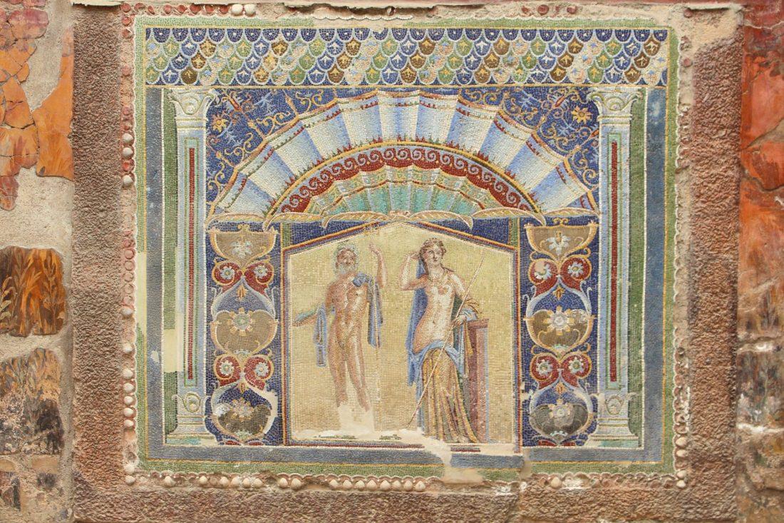 Herculaneum mosaic