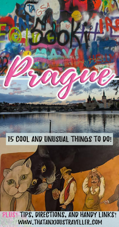 Unusual things to in Prague - the cool, the quirky, and the weird! Learn where to find the most unique things to do in the Czech Republic's capital, with tips, maps, and information on the sights! #prague #travel #tips #unusual #cool #things #to #do https://thatanxioustraveller.com