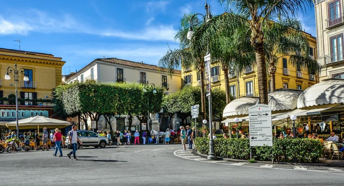 Piazza Tasso - Sorrento on a budget