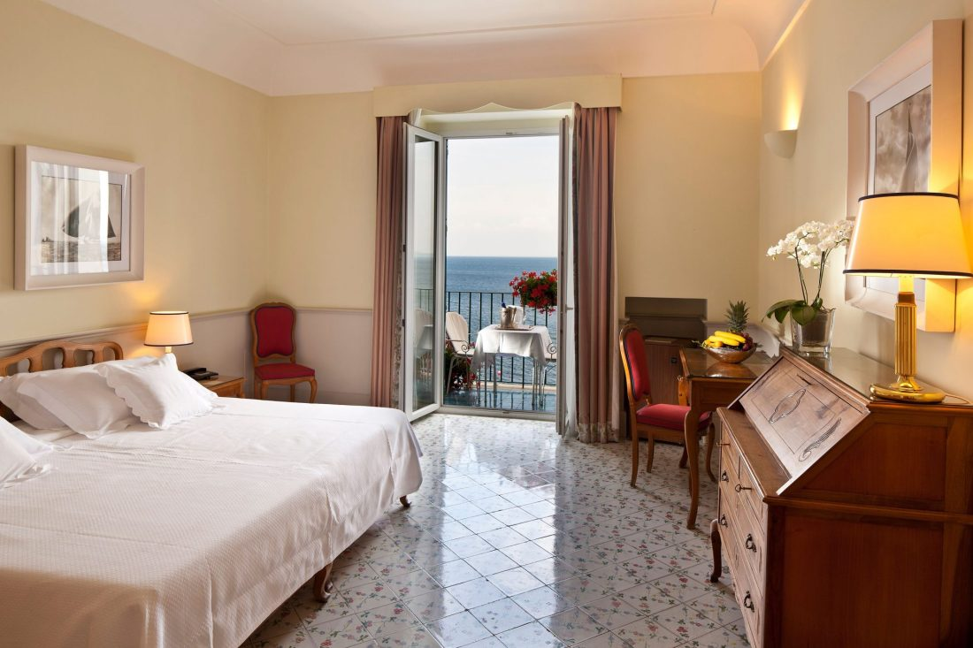 A hotel room at the Regina Isabella, Ischia