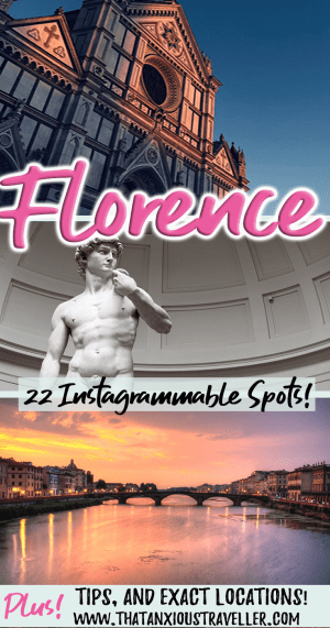 Looking for Florence photography spots? Check out this guide to the most Instagrammable places in Florence! Instagram Giardino delle Rose, and find the best sunset Florence. With tips for finding the most Instagrammable restaurants in Florence, you'll be photographing Florence and Tuscany in no time! #thatanxioustraveller #florence #instagram #spots #italy #europe #travel