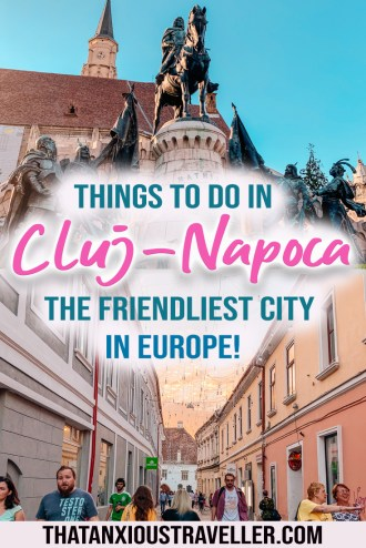 Check out this guide to all the best things to do in Cluj-Napoca in Transylvania, Romania! Learn where to find the best restaurant in Cluj, where to stay in Cluj, and how to make the most of Cluj nightlife! Get Halloween vacation ideas, and see photography that'll show you the aesthetic and architecture of this lovely city! #cluj #romania #travel #halloween