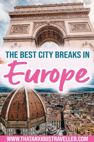 Looking for the best city breaks in Europe? Discover 7 of Europe's cities, and get some serious wanderlust! Whether you're looking for weekend breaks, or a more local and cultural experience, you'll find something in this guide, as I explain how to slow travel in some major European destinations - including Paris, Amsterdam, and Florence! #europe #europecitybreaks #slowtravel