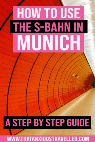 Need to know how to use Munich public transport? Not sure how to buy tickets for the S-Bahn, or how to read the Munich tube map? Get tips for using the S-Bahn in Munich here! With a step-y-step photo guide, you'll know how to buy a Munich single ticket, or a Munich 3 day group ticket, as well as know the most useful apps for getting around! Includes maps of the U-Bahn and S-Bahn system! #munich #sbahn #munichpublictransport #train #tickets