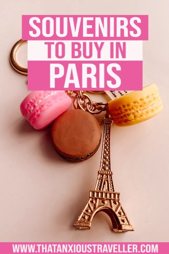 Looking for the best gift ideas to what to buy in Paris? Get the perfect products on the cheap with this guide to Paris souvenirs, which won't break your budget! Forget the expensive perfume; these are great gifts whether they're for women, for men, or for kids. With something for art lovers, book lovers, and Paris lovers, you'll find what you need here! #paris #souvenirs #whattobuyinparis #gifts