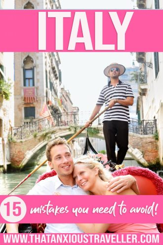 Need Italy travel tips? Learn how not to look like a tourist in Italy with this Italian travel guide! With top Italy insider tips, you'll find out how to travel to Venice on a budget, safety travel tips for Italy, and how not to insult the locals! Learn the best places to visit, what to wear, and secret places on the Amalfi Coast! | travel tips Italy | Dos and donts in Italy | Italy mistakes | common tourist mistakes Italy | Italy tips #Italy #TravelTips #ItalyTravelTips #ItalyTravel