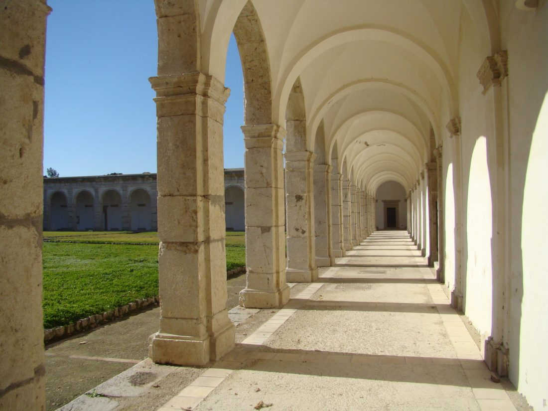 The charterhouse of Certosa di San Giacomo on Capri. This is one of the most historic Capri attractions.