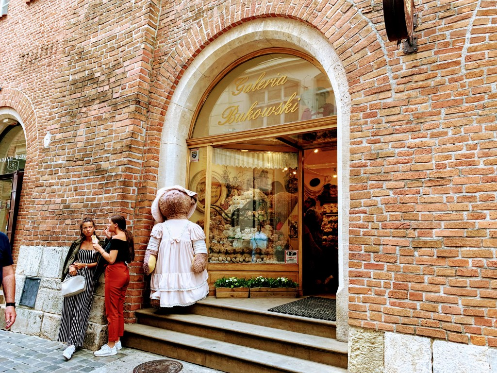Galeria Bukowski in Krakow, a delightful shop perfect for Krakow souvenirs, and a lovely stop on a Krakow itinerary!