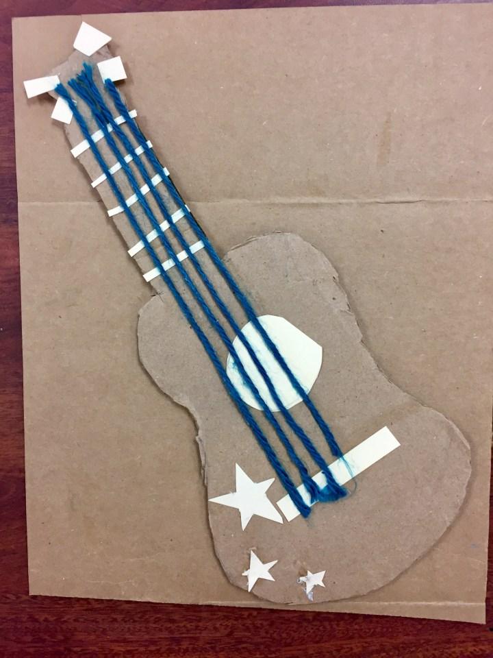 Jazz Printmaking & Collage Art Lesson Plan