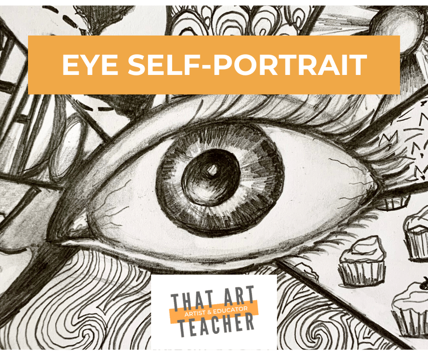 Eye Self- Portrait Lesson