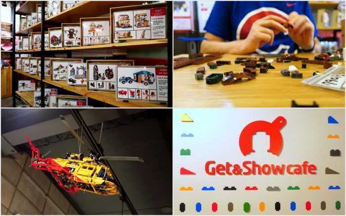 Visiting the Lego Cafe in Seoul where you can play with Lego.
