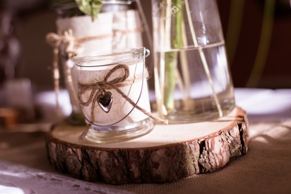 rustic themed wedding inspiration