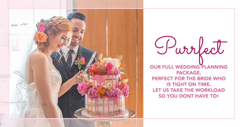 Full wedding planning package