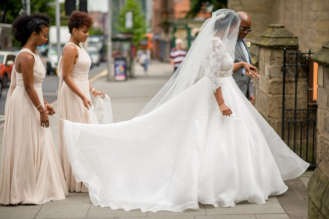Tim and Carine's real wedding inspiration