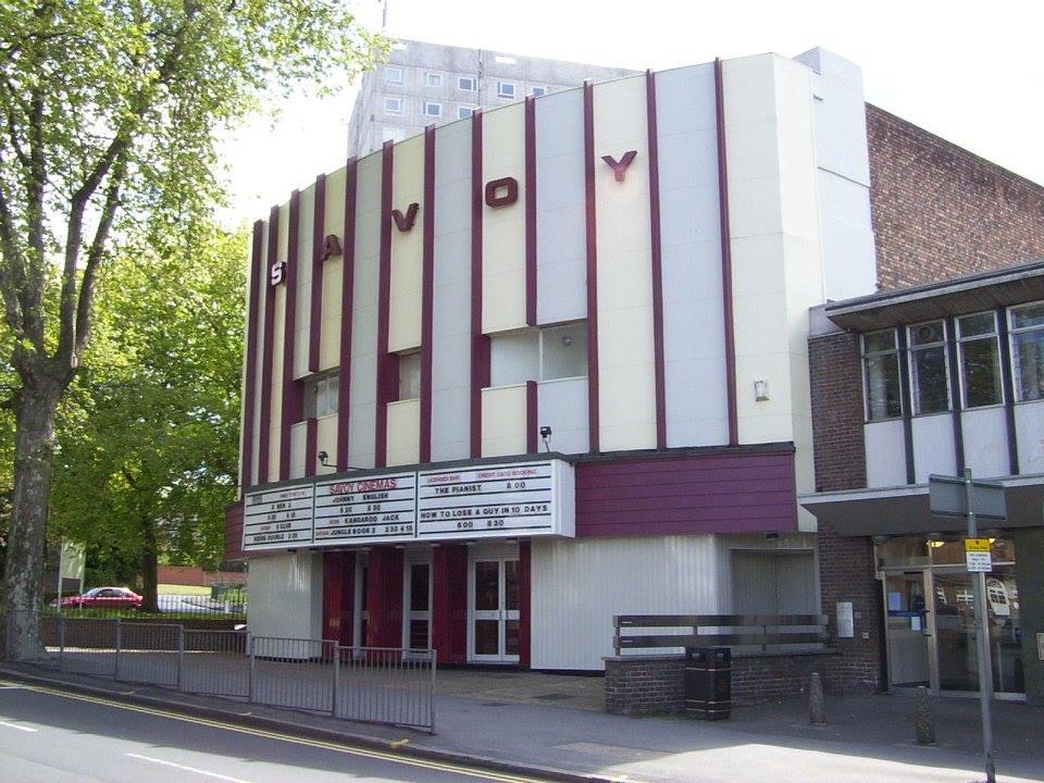 the savoy cinema - screen 1 - alternative and unusual wedding venue - frontage