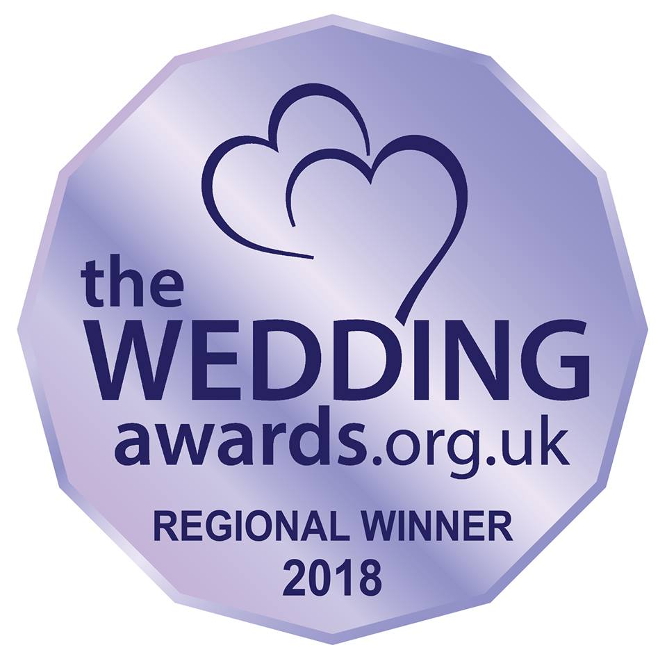 Voted best wedding planner in the midlands, west midlands, east midlands 2018
