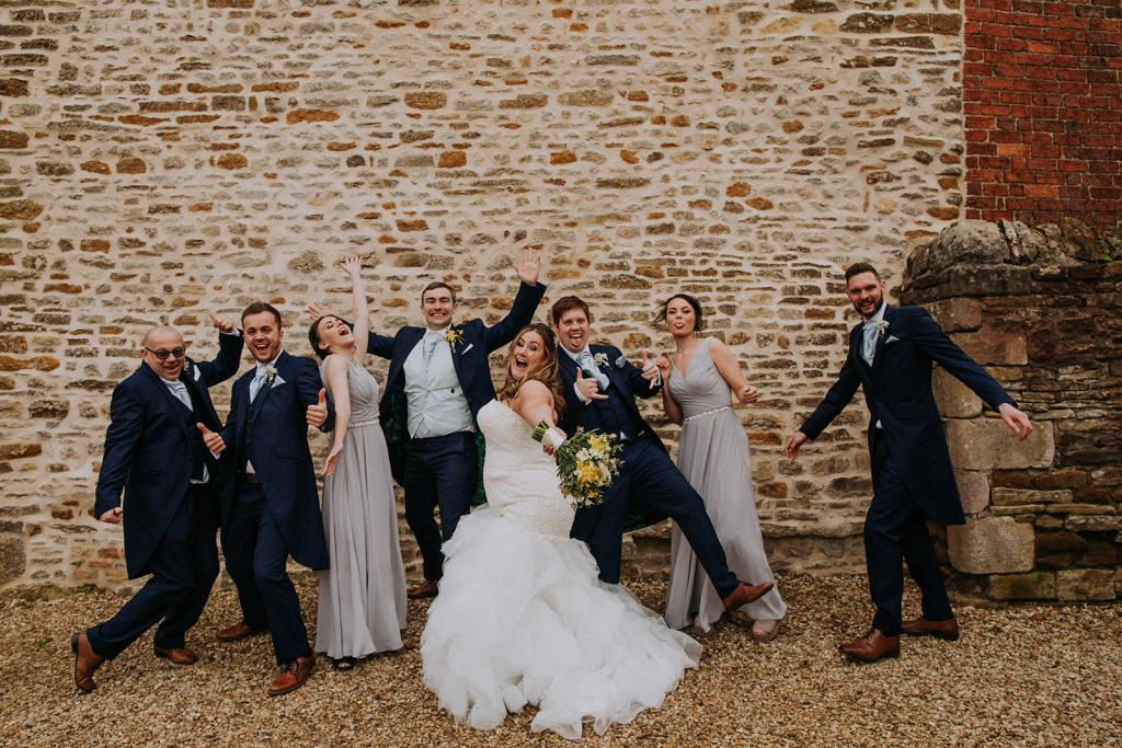 rutland wedding - fun wedding - east midlands wedding planner - Leicestershire wedding planning - nottingham wedding planner - fun bridal party photo